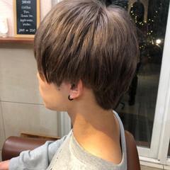 メンズカラー ブリーチ メンズマッシュ 2ブロック ヘアスタイルや髪型の写真・画像