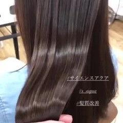 ナチュラル トリートメント モテ髪 髪質改善トリートメント ヘアスタイルや髪型の写真・画像