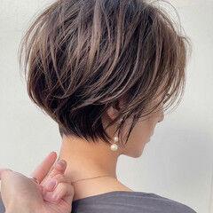 ショート ショートヘア ショートボブ ショートカット ヘアスタイルや髪型の写真・画像