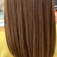 髪質改善トリートメント 髪質改善 最新トリートメント ミディアム ヘアスタイルや髪型の写真・画像