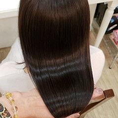 セミロング ナチュラル トリートメント 髪の病院 ヘアスタイルや髪型の写真・画像