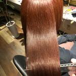 ロング 美髪 髪質改善トリートメント ナチュラル
