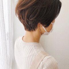 ショートヘア ハイライト ベリーショート ショートボブ ヘアスタイルや髪型の写真・画像