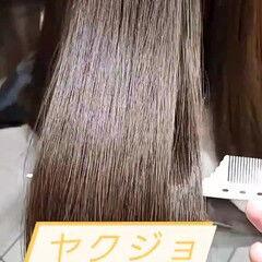 ナチュラル デートヘア アッシュベージュ 透明感カラー ヘアスタイルや髪型の写真・画像