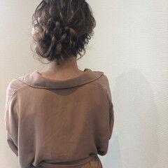 ロング ヘアセット 和装ヘア フェミニン ヘアスタイルや髪型の写真・画像
