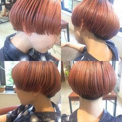 ショート ストリート マッシュ 木村カエラ ヘアスタイルや髪型の写真・画像