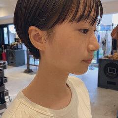 ショートボブ オーガニック ナチュラル ショート ヘアスタイルや髪型の写真・画像