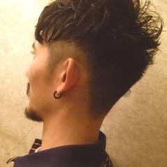ショート 刈り上げ ニュアンス ヘアスタイルや髪型の写真・画像
