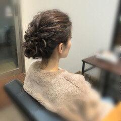 アップ 結婚式 アップスタイル 成人式ヘア ヘアスタイルや髪型の写真・画像