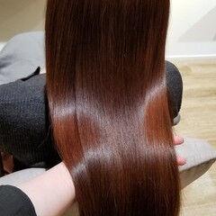 髪質改善トリートメント トリートメント ロング エレガント ヘアスタイルや髪型の写真・画像