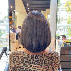 ナチュラル お手入れ簡単!! 内巻き 艶髪 ヘアスタイルや髪型の写真・画像