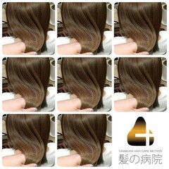 名古屋市守山区 髪の病院 ナチュラル ミディアム ヘアスタイルや髪型の写真・画像