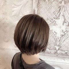 グラデーションカラー ヌーディベージュ ストリート ショートヘア ヘアスタイルや髪型の写真・画像