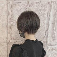 ショート フェミニン 小顔ショート 大人ショート ヘアスタイルや髪型の写真・画像