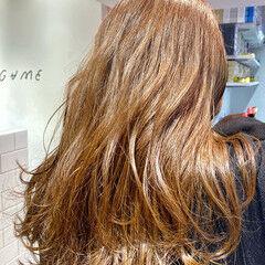 ナチュラル 美髪 大人ミディアム セミロング ヘアスタイルや髪型の写真・画像