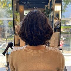 ゆるウェーブ ゆるふわパーマ トリートメント パーマ ヘアスタイルや髪型の写真・画像