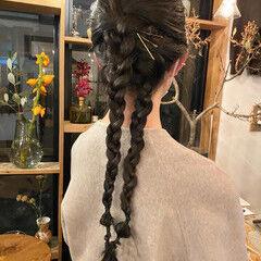 透明感カラー くすみカラー 暗髪 ナチュラル ヘアスタイルや髪型の写真・画像