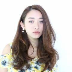 モテ髪 コンサバ セミロング アンニュイ ヘアスタイルや髪型の写真・画像