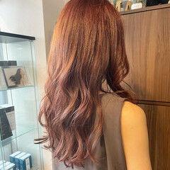 大人女子 エレガント コテ巻き 大人ロング ヘアスタイルや髪型の写真・画像