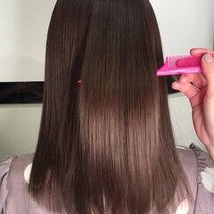 プリンセストリートメント 最新トリートメント ガーリー ダブルカラー ヘアスタイルや髪型の写真・画像