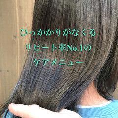 オリーブベージュ TOKIOトリートメント トキオトリートメント ロング ヘアスタイルや髪型の写真・画像