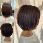 髪質改善トリートメント ガーリー 縮毛矯正 ショート