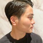 メンズ 刈り上げ 黒髪 ショート