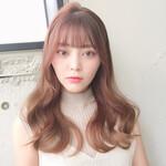 ヨシンモリ シースルバング 韓国ヘア フェミニン