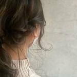 セミロング 簡単ヘアアレンジ セルフヘアアレンジ 編みおろしヘア