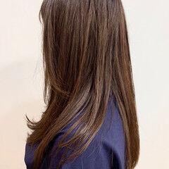 ヘアカラー ナチュラル チョコレート 大人カラー ヘアスタイルや髪型の写真・画像
