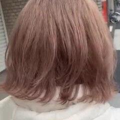 レイヤーカット ハイトーンボブ レイヤーボブ ナチュラル ヘアスタイルや髪型の写真・画像