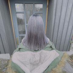 髪質改善トリートメント モード 最新トリートメント セミロング ヘアスタイルや髪型の写真・画像