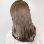 ナチュラル ミディアム イルミナカラー 髪質改善