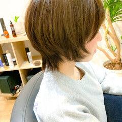 ボブウルフ ショート ショートヘア ショートボブ ヘアスタイルや髪型の写真・画像
