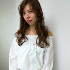 ルーズ アンニュイほつれヘア ふんわり ヘアスタイルや髪型の写真・画像