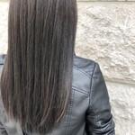 ダークアッシュ ナチュラル アッシュグレー 暗髪