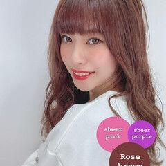髪質改善トリートメント 大人女子 ピンク おしゃれさんと繋がりたい ヘアスタイルや髪型の写真・画像
