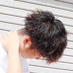 ツイスト ショート マッシュショート ショートマッシュ ヘアスタイルや髪型の写真・画像