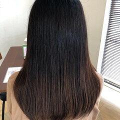 縮毛矯正 ナチュラル 美髪 髪質改善 ヘアスタイルや髪型の写真・画像