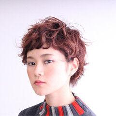 ショート 大人女子 ストリート マッシュ ヘアスタイルや髪型の写真・画像