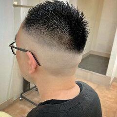 刈り上げ ストリート スキンフェード フェードカット ヘアスタイルや髪型の写真・画像