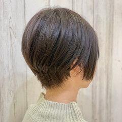 ナチュラル マッシュショート ショートヘア ショート ヘアスタイルや髪型の写真・画像