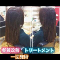 髪質改善 ナチュラル 大人ロング うる艶カラー ヘアスタイルや髪型の写真・画像