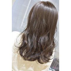 ブラウン グレージュ ダークトーン ダークカラー ヘアスタイルや髪型の写真・画像
