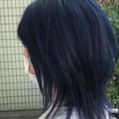 ストリート ダブルカラー ウルフカット ブリーチ ヘアスタイルや髪型の写真・画像