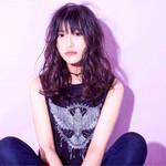 セミロング 大人かわいい 渋谷系 黒髪