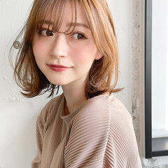 デート アンニュイほつれヘア 大人かわいい レイヤーカット ヘアスタイルや髪型の写真・画像