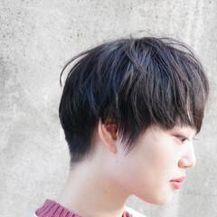 黒髪ショート ショート ショートボブ ナチュラル ヘアスタイルや髪型の写真・画像