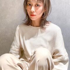 ストリート ウルフカット ウルフ女子 マッシュウルフ ヘアスタイルや髪型の写真・画像
