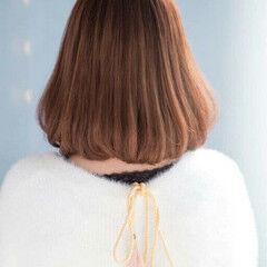 色気 ガーリー レッド ハイライト ヘアスタイルや髪型の写真・画像